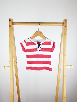 Early days striped t-shirt 6-12 months