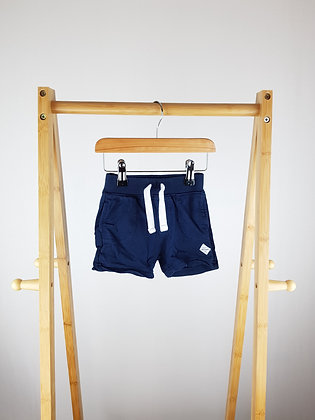 Mothercare navy shorts 6-9 months