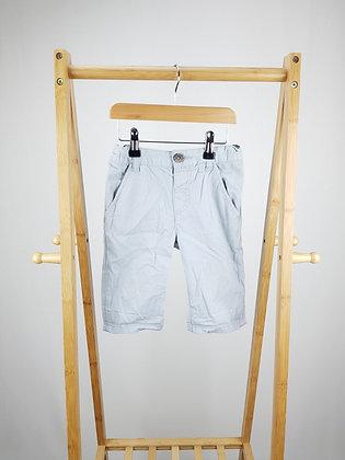 Bluezoo grey chino shorts 5-6 years