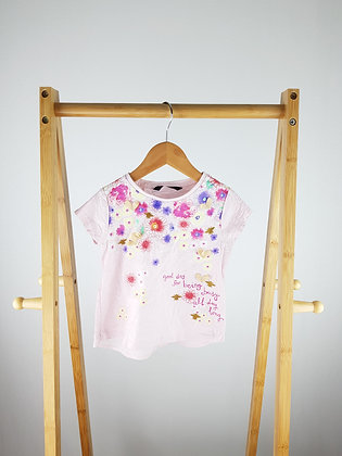 George floral t-shirt 2-3 years