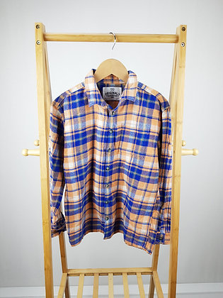 M&S checked shirt 11-12 years