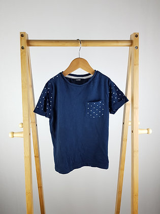 George spotted navy t-shirt 5-6 years