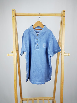 Matalan blue polo shirt 9 years