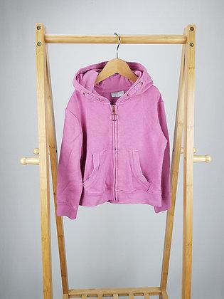 Matalan zipped hoodie 5 years