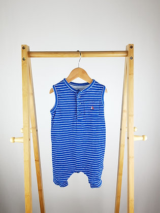 M&S nautical romper 9-12 months