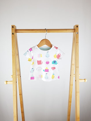 Mothercare animal t-shirt 3-6 months
