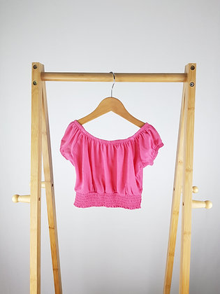 River Island pink top 3-4 years