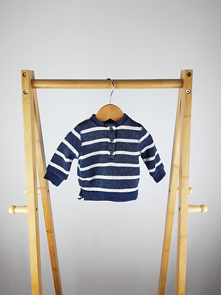 F&F striped sweater up to 1 month