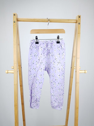 F&F floral harem trousers 2-3 years