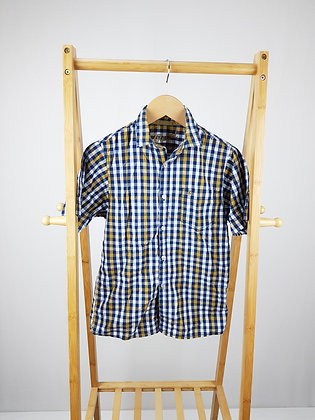 Rebel checked shirt 10-11 years