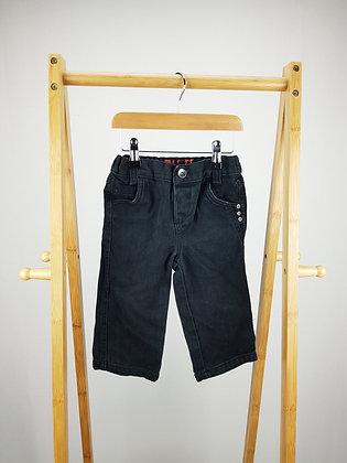 George black denim jeans 12-18 months