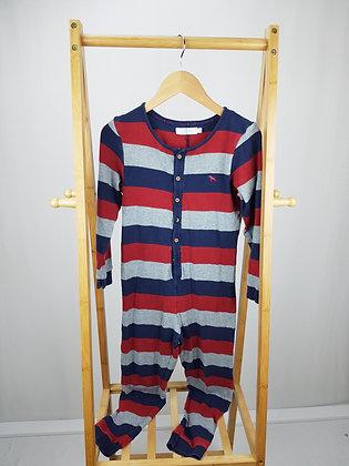 Jasper Conran striped onesie 9-10 years