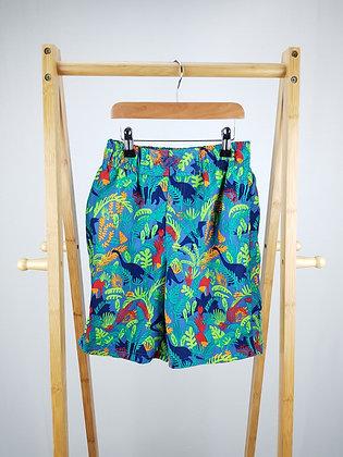 John Lewis tropical dinosaur shorts 10 years