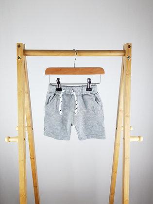 Primark grey shorts 9-12 months