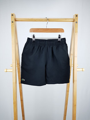 Lacoste black shorts 10 years