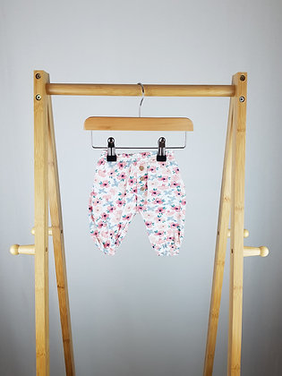 M&S floral joggers up to 1 month