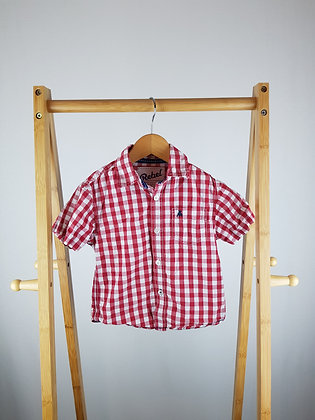 Rebel checked shirt 2-3 years