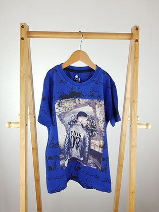 Kidley blue t-shirt 7-8 years