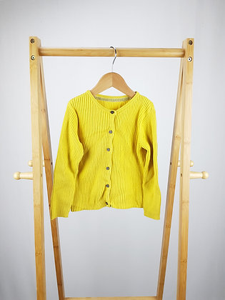Mothercare yellow knitted cardigan 2-3 years