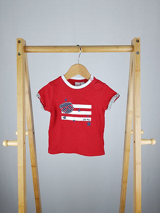I do by Miniconf red t-shirt 12-18 months