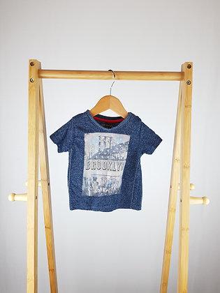Little Rebel Brooklyn t-shirt 12-18 months
