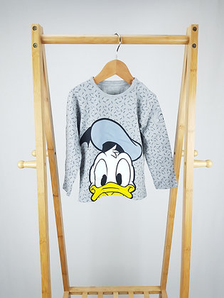 Disney at George Donald Duck long sleeve top 18-24 months