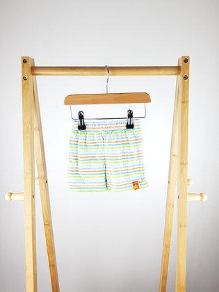 Adams striped shorts 6-9 months
