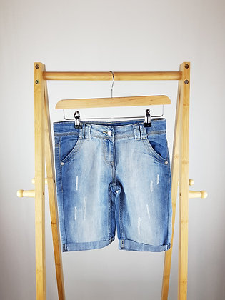 Cherokee denim shorts 10-11 years