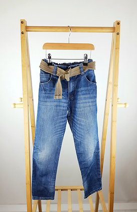 George jeans with belt 9-10 years