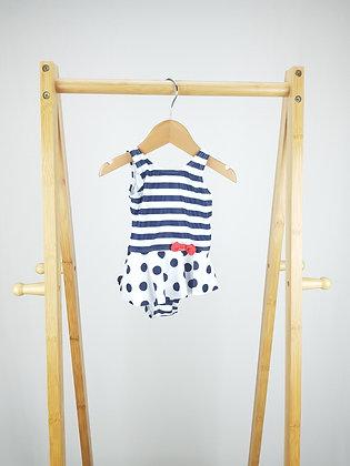 George stripes & spots swimsuit 6-9 months