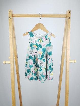 H&M tropical dress 18-24 months