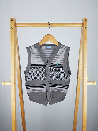 F&F knitted vest 3-4 years