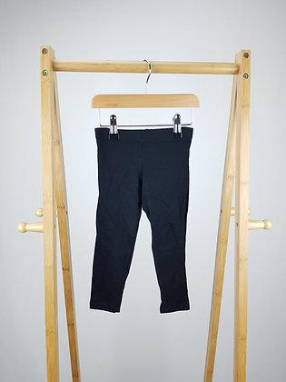 F&F black leggings 2-3 years