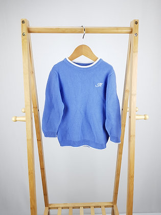 Mayoral blue knitted sweater 3 years