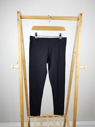 Primark black leggings 10-11 years