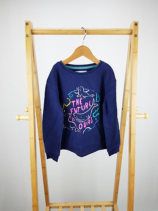 M&S the future is ours sweater 6-7 years