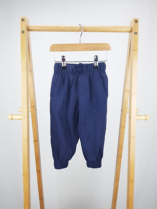 George navy joggers 18-24 months