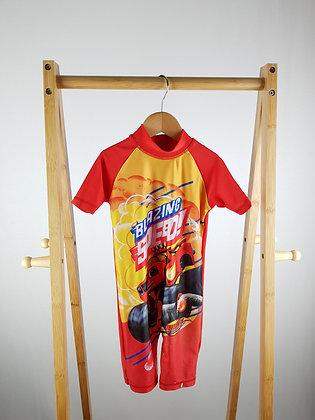 Nickelodeon Blaze and the monster machines swimsuit 3-4 years