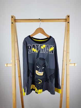 M&S Batman long sleeve pyjama top 7-8 years