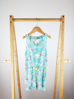M&Co flamingo playsuit 6-7 years