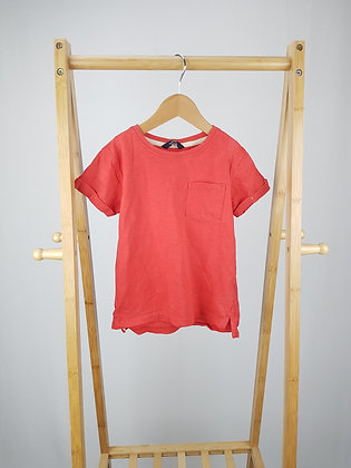 George red t-shirt 6-7 years