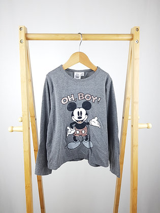 Primark Disney Mickey Mouse long sleeve top 7-8 years