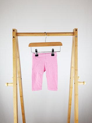 Primark pink leggings 3-6 months