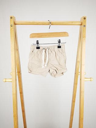 F&F beige shorts  9-12 months