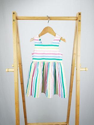 George striped dress 12-18 months