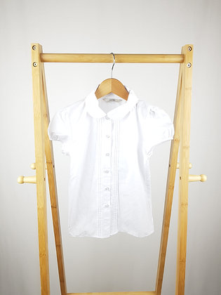 George white blouse 7-8 years