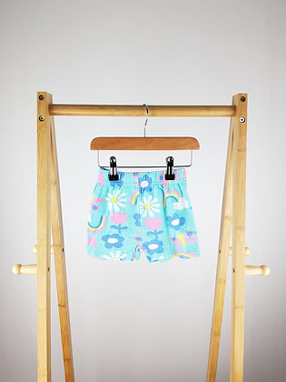 Studio baby floral shorts 12-18 months