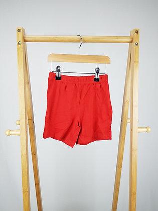 George red pyjama shorts 4-5 years