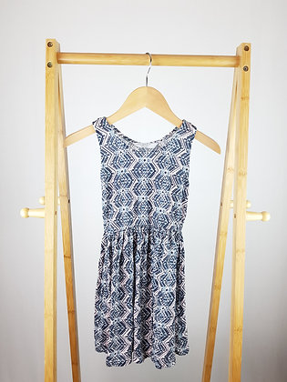 Primark abstract dress 7-8 years