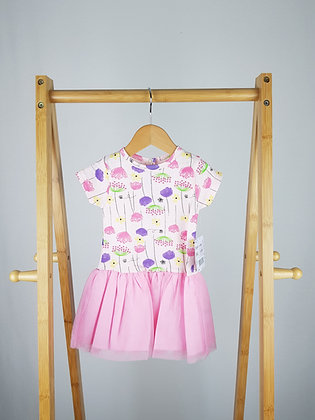 Chloe Louise floral tutu dress 0-3-6-12 months